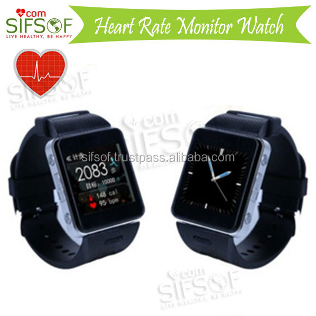 SIFWATCH-5.8 Smart Bluetooth pedometer to Connect iOS & Android Phone, E-fence Function, Wrist Pulse Sensor,