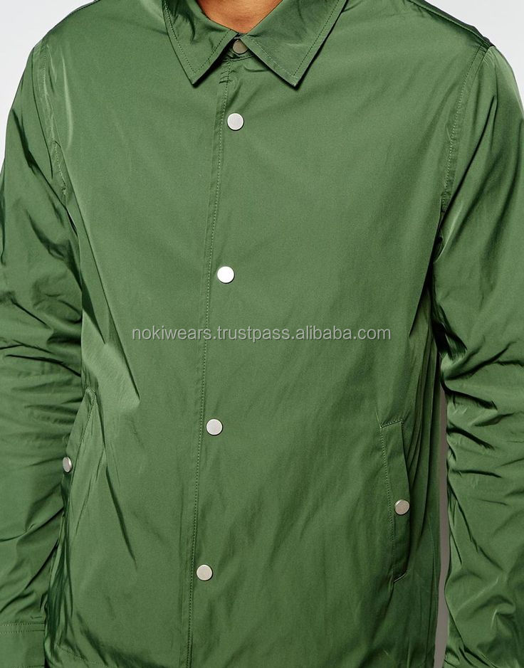 Water proof coaches jacket Custom new winter/wholesale blank jacket / At Noki