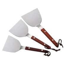 Griddle Spatula &amp; Scraper Set Tools &amp; Accessories for <strong>Flat</strong> Top Grill