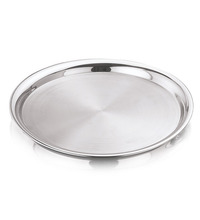 New design stainless steel divided fast food canteen tray