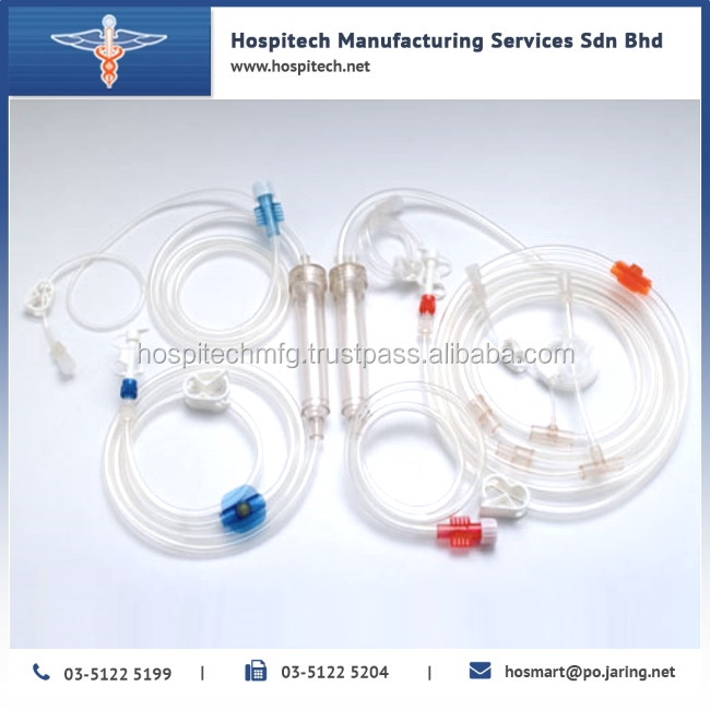 High Quality Bloos Tube OEM Medical Hemodialysis Medical Blood Tubing Lines, Bloodline collection Tubing Normal medical supply