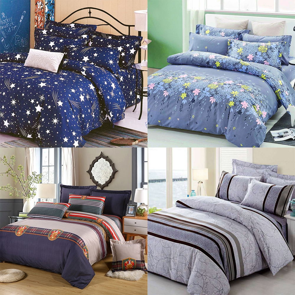 Kids comforter bedding fitted sheet set bed linen for hotels