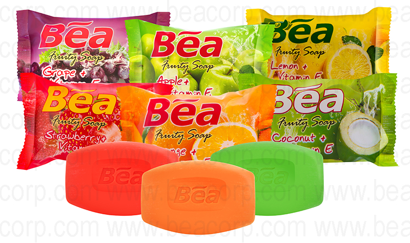 BEA natural fruity soap indonesian high quality soap