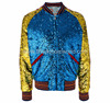 Breathable wholesale men sublimation bomber jacket, Custom logo/Design accepted