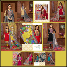 Exclusive Fancy chudidar Printed Unstitched Women Dress Material