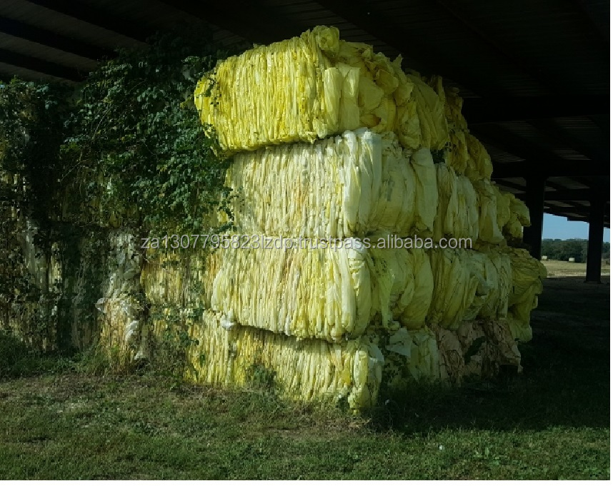RR3227A 9,920,000 lbs LDPE Yellow Cotton Wrap Scrap for Sale!!!