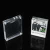 3d plexiglass / acrylic photo frame / cube picture frame