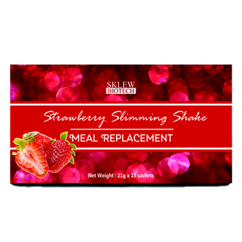 Strawberry Slimming Shake with Whey Soy Protein OEM Private Label