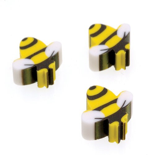 MINI BUMBLE BEE ERASERS (SOLD BY GROSS) #LM174