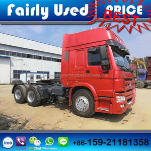 Used Right Hand Drive /RHD Sinotruck Howo Truck Tractor Head