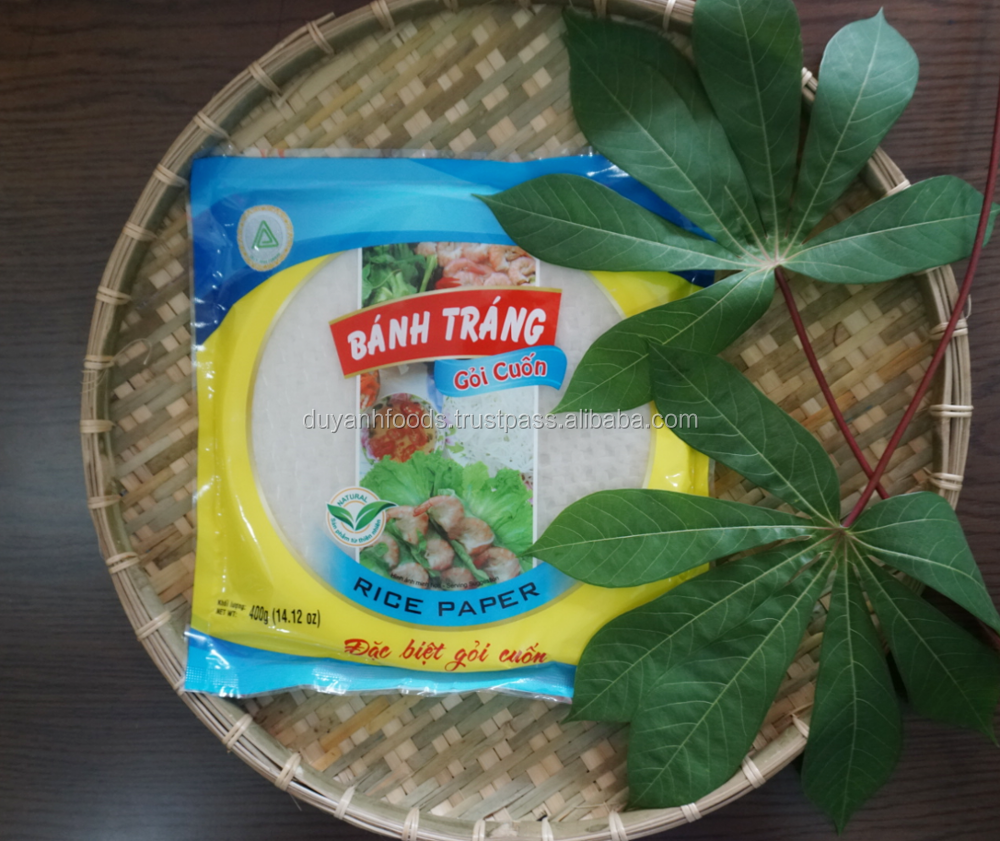 Supplier Rice Paper In Viet Nam With Best Price And Huge Quany Duy Anh Foods