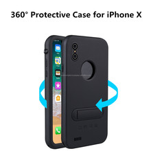 360degree Waterproof Mobile/Cell Phone Case for iPhone X Protective Cover