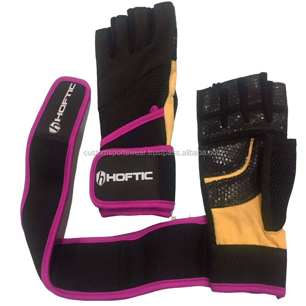 weight lifting gloves private label/leather weight lifting gloves