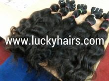 Wavy and natural curly blonde hair virgin temple hair for good prices CURLY Hair