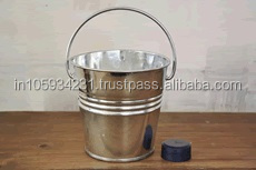 Metal Champagne Plain Round handle Bucket for Bar ware use