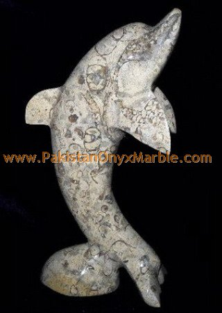 DECORATIVE Cheap Customized size ONYX CARVING FISHES