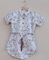 baby girl cotton printed dress,