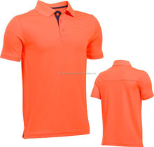 Printing logo special discount school uniform body fit polo shirts