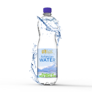 Leaf Spring Drinking Water Bulk, Natural Artesian Water from New Zealand