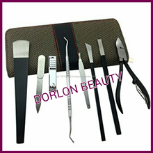 Spove Pedicure Sets Professional Pedicure Knife Kit Foot Care Callus Corn Cuticle Clipper Pusher Remover