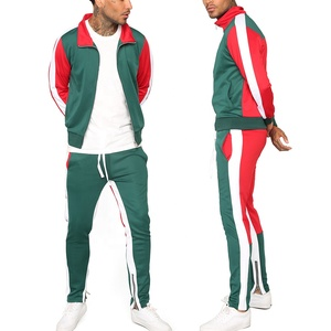 Wholesale Hot Sale Comfortable New Design Stripped Tracksuit For Men FSW-5370