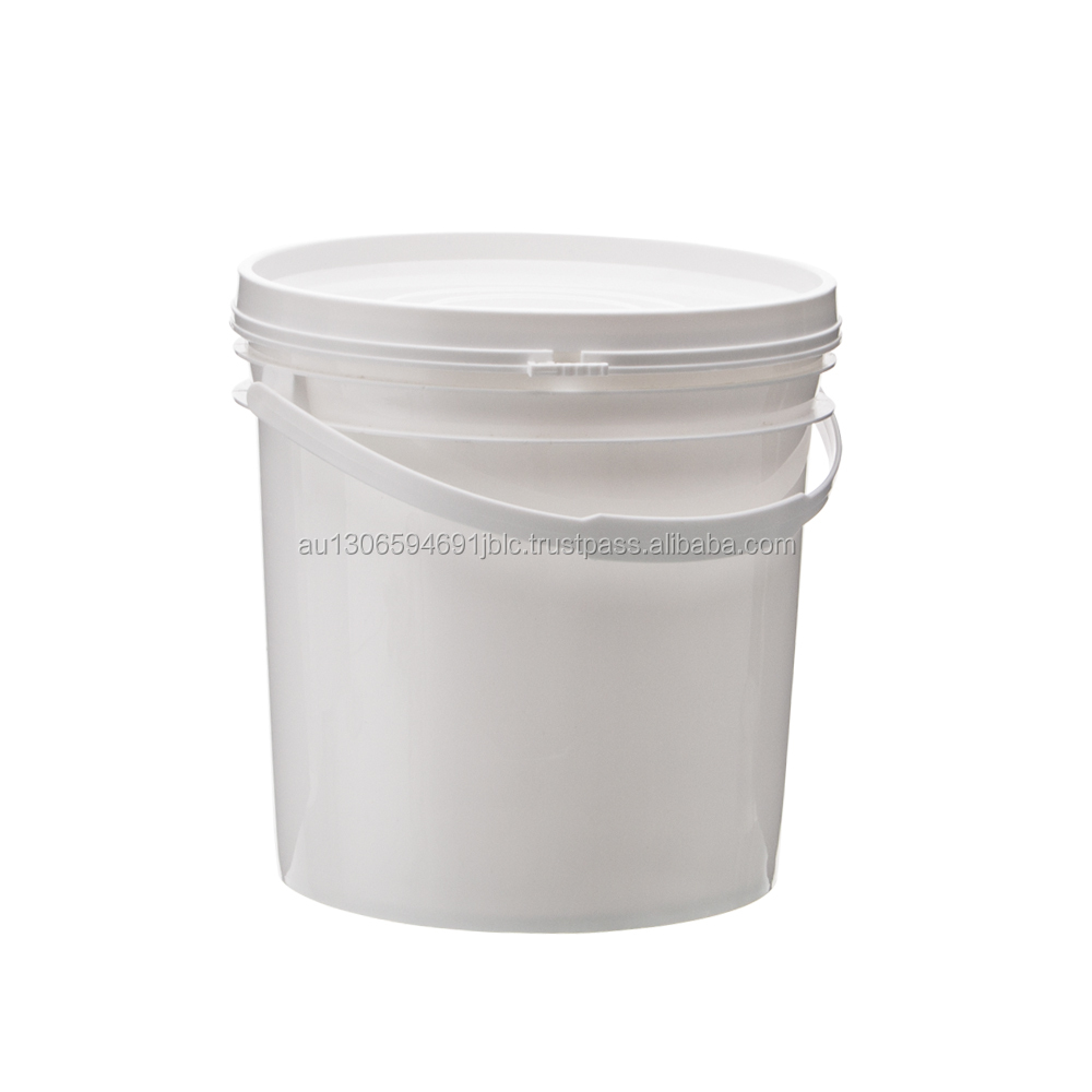 4 liter plastic bucket with Lid and handle, water drum, paint container