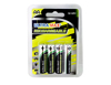 ULTRA MAX Rechargeable AA Size Battery NIMH 2500 mAh, 1.2v. 4 X Batteries in a Pack.