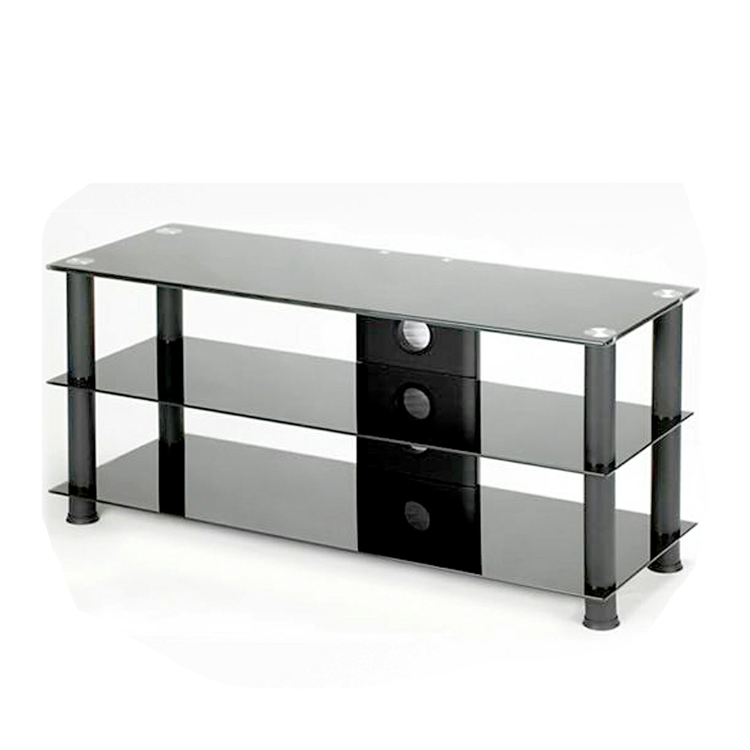 42 inch modern simple cheap metal legs mirrored plasma tv stand