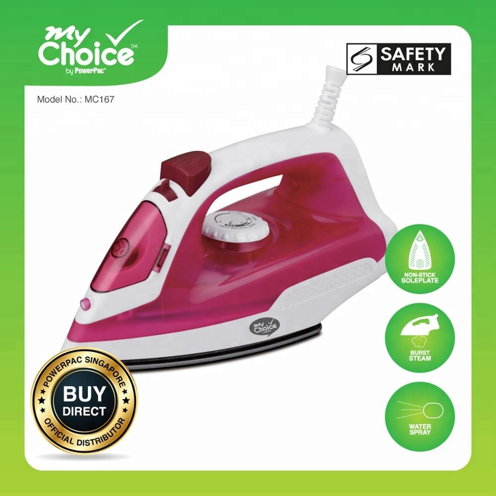 MyChoice Steam <strong>Iron</strong> 1400W (MC167) Stocks Appliances