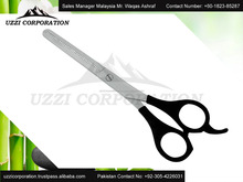 HIGH QUALITY PLASTIC HANDLE HAIR CUTTING SCISSORS plastic handle barber