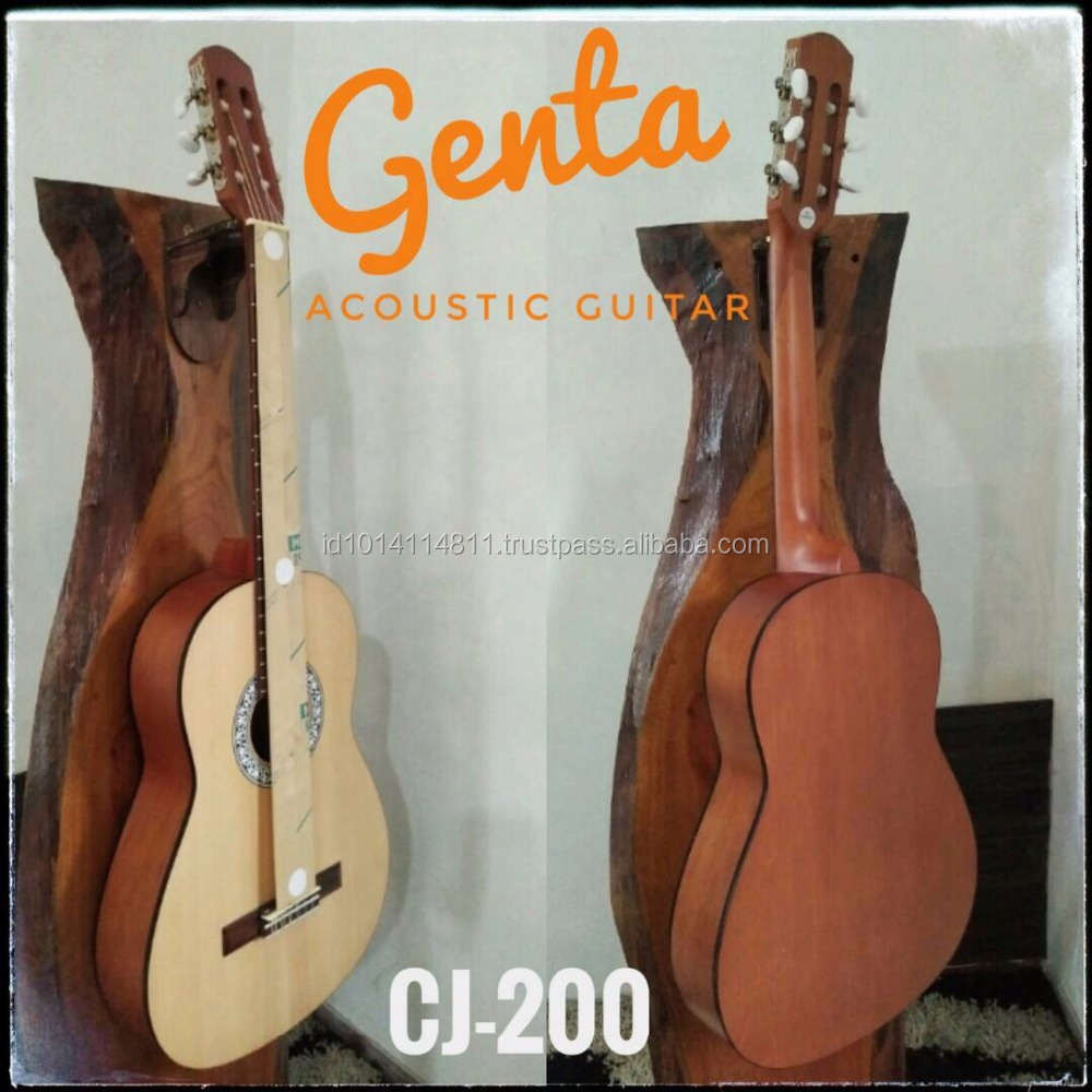 Top Quality Accoustic Guitar Meranti and Mahogany Wood CJ-200