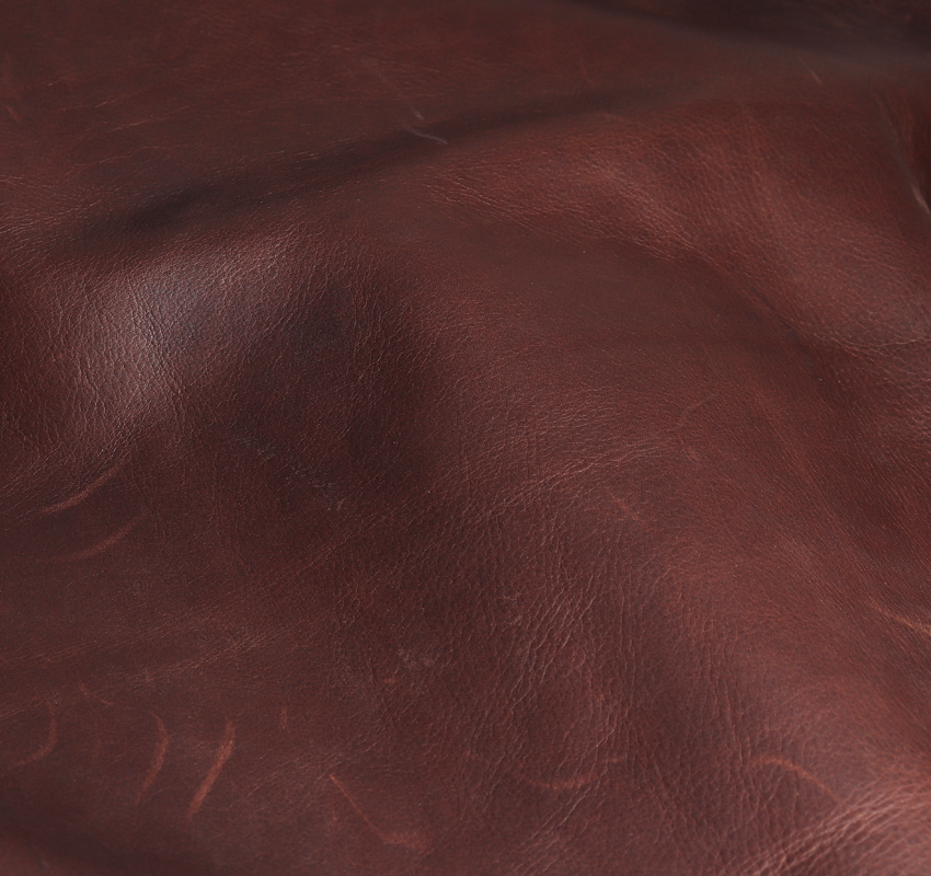 Customized cow skin fabric buffalo hide for modern leather sofa