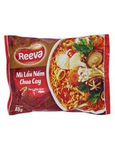 Reeva Instant Noodles With Spicy And Sour Mushroom Hotpot Flavour