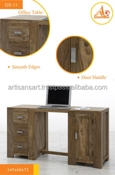 Computer Table, Solid Wood Desk, Solid Wood Furniture