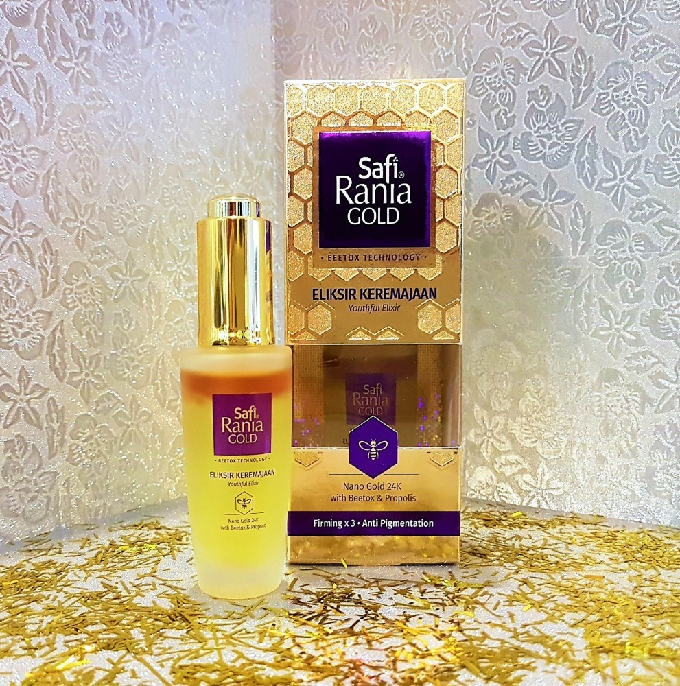 Safi Rania Youthful Elixir Nano gold 24k Beetox 30ml.