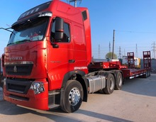 Howo 40T Flatbed Truck for sale in China