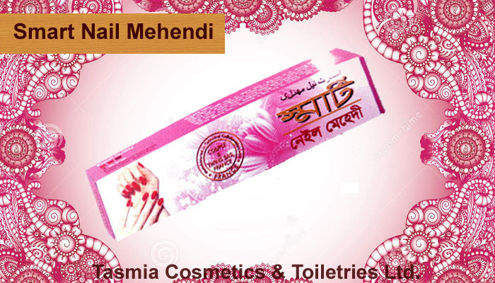 Indian Smart Nail Henna paste for Nail Polish