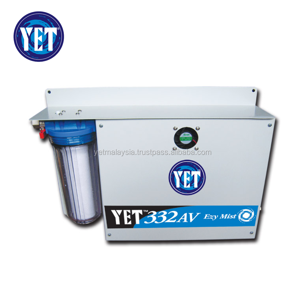 YET 300psi (20 bar) Low Speed High Pressure Mist System / Fog System (40 Nozzles capacity)