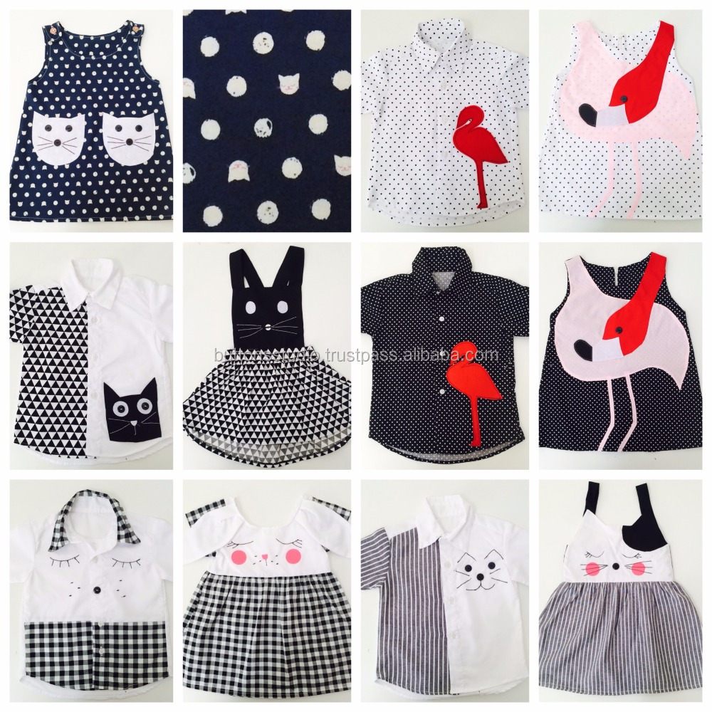 Animal Matching Halloween Clothes for Kids OEM Wholesale from Bangkok