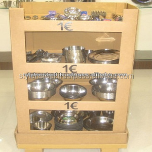 1 Euro store item / Pallet Display Box / Kitchenware for Euro stores