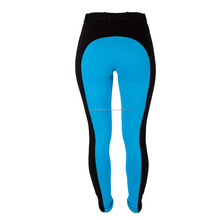 Ladies Two Tone Jodhpurs Breeches in Black and Blue Colour - Indian Global Trade