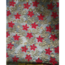 Embroidery Fabric / Fancy Embroidery Fabric / Net Embroidery Fabric Design