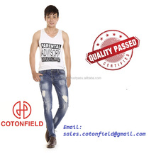 COTONFILED! NEW STYLE 2017 DENIM JEANS PENT MEN MADE CHEAP PRICE
