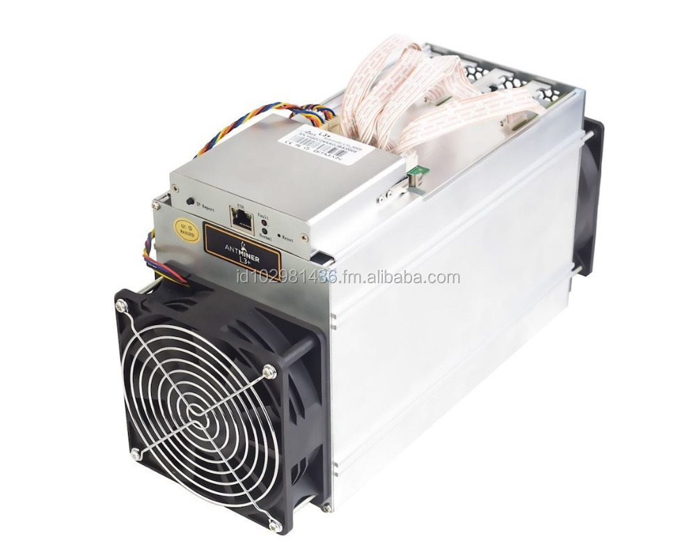 2017 New Futures BITMAIN ANTMINER L3+ 504M 800W 1.6J/MHLitecoin Miner LTC Mining Machine IN STOCK Asic miner
