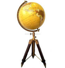 Nautical Antique World Globe With Table Tripod Stand Beautiful Christmas Gift CHGLOB25001