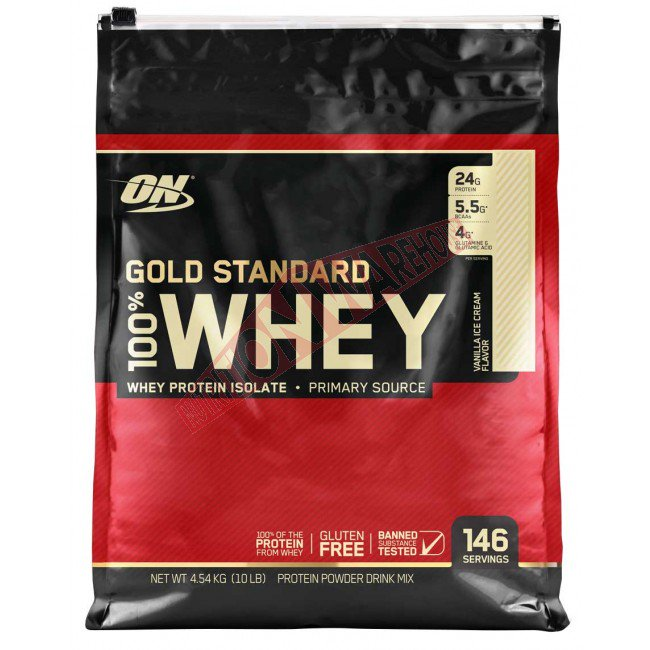 Optimum Nutrition 100% Natural Whey Gold Standard Protein, Chocolate