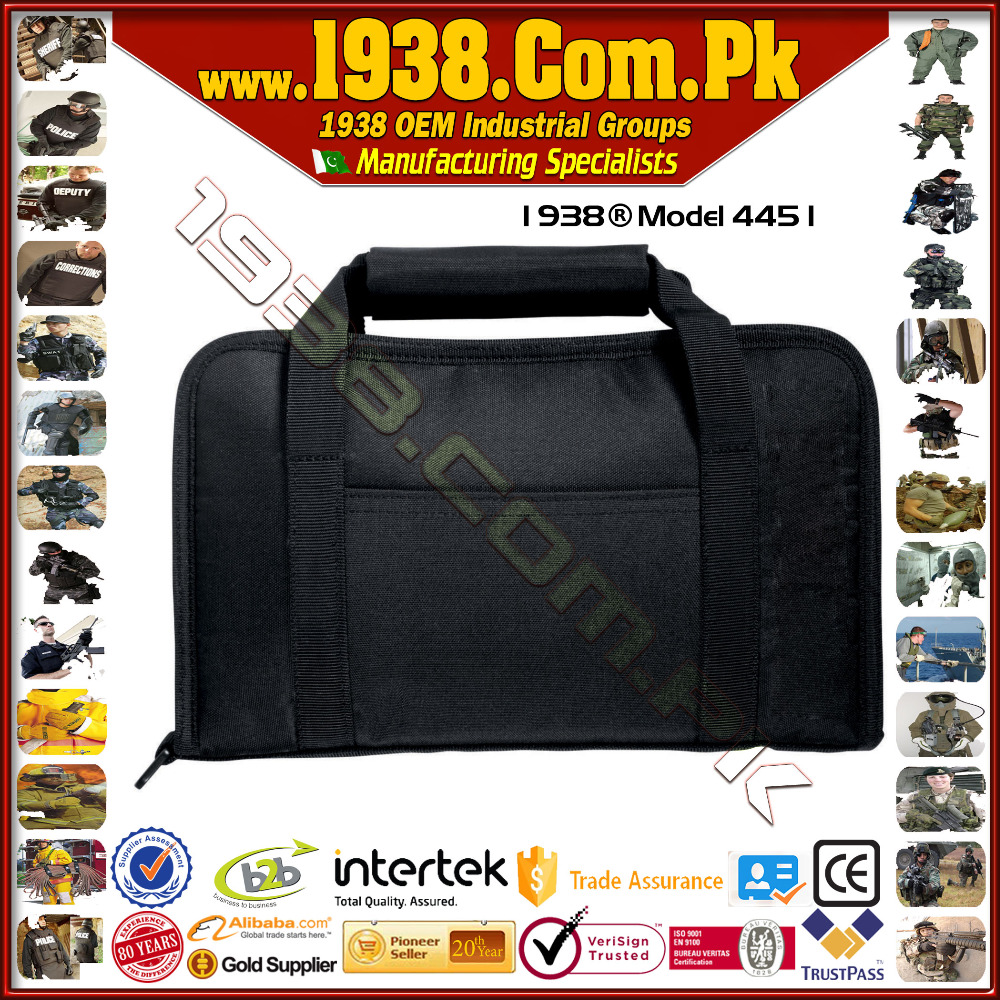 1938@ Deluxe Pistol Bag -{Made-To-Order}- Police Duty Gear Tactical Gear Military Gear