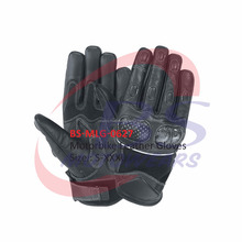 Durable Leather Motorbike Racing Sports Gloves
