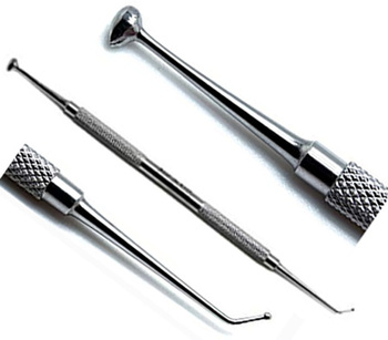 Dental Burnishers Ball Double Ended Dental Laboratory instruments