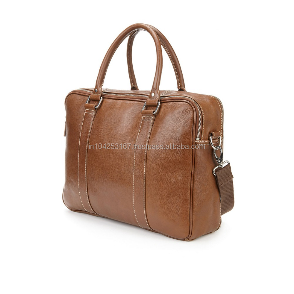 Bags for men office genuine leather india cheap